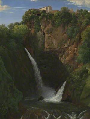 A View of Tivoli Cascade