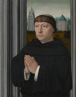 An Augustinian Friar (?) Praying
