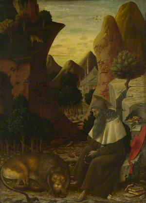 Saint Jerome in a Landscape