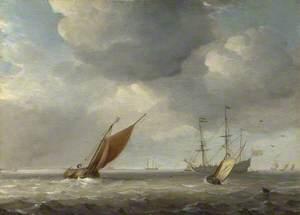 Small Dutch Vessels in a Breeze