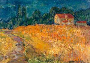 Fields at Pontarme