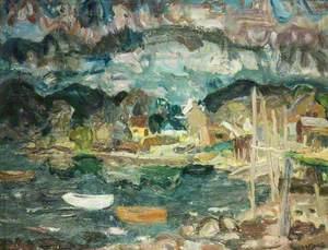 Dusk at Letterfearn