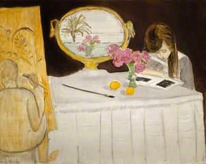 La leçon de peinture or La séance de peinture (The Painting Lesson or The Painting Session)