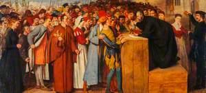 Wishart Preaching against Mariolatry