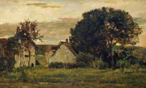 Cottages at Barbizon: Evening