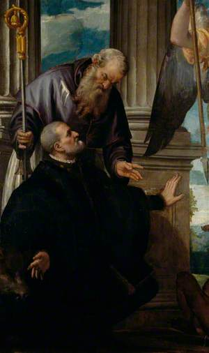 Saint Anthony Abbot as Patron of a Kneeling Donor
