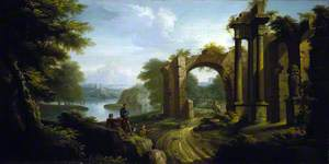Classical Landscape with Architecture