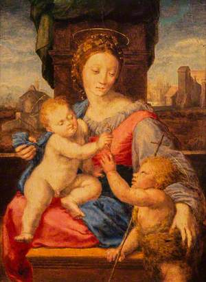 The Virgin and Child with the Infant Saint John the Baptist (The Aldobrandini or Garvagh Madonna)