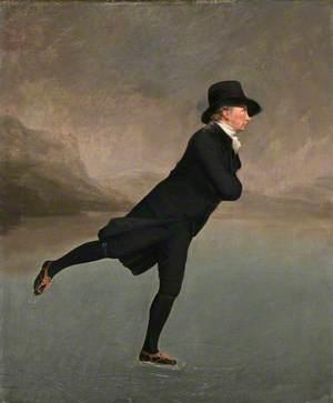 Reverend Dr Robert Walker (1755–1808) Skating on Duddingston Loch