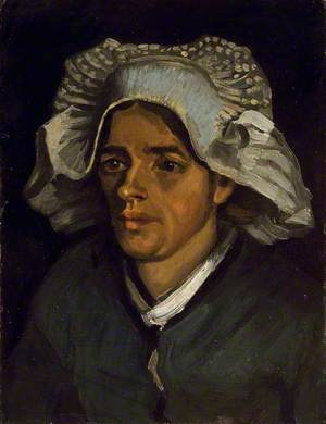 The Head of a Peasant Woman