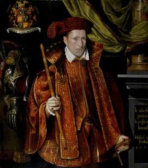 George (c.1531–1585), 5th Lord Seton, Aged 27