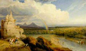 The Eildon Hills and the Tweed