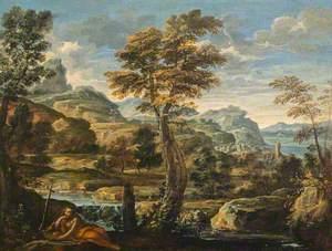 Landscape with Saint Mary Magdalene