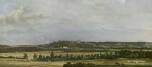 The Heights of Sannois Seen from the Plain of Argenteuil