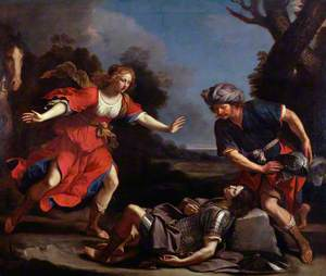 Erminia Finding the Wounded Tancred