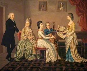 James Erskine (1722–1796), Lord Alva, and his Family