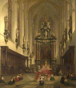 Chancel of the Collegiate Church of St Paul, at Antwerp