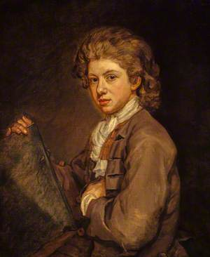 Portrait of a Young Man (probably the Artist's Son, John Medina the Younger, d.1764)