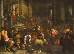 Christ Driving the Money Changers from the Temple