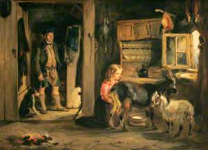 A Goatherd's Cottage