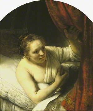 A Woman in Bed