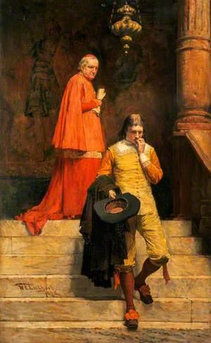 Gil Blas and the Archbishop of Granada (from Lesages 'The Adventures of Gil Blas de Santillane')