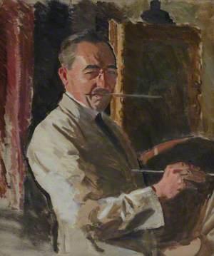 Harrington Mann (1864–1937), Artist, Self Portrait