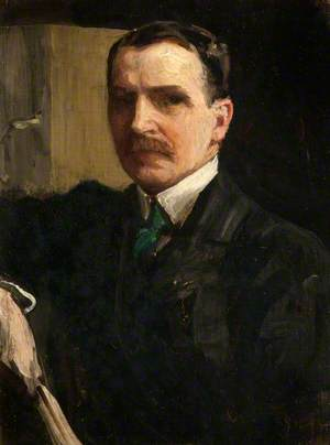 Sir James Guthrie (1859–1930), Artist and President of the Royal Scottish Academy, Self Portrait