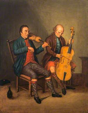 Niel Gow (1727–1807), Violinist and Composer, with his Brother Donald Gow (active c.1780), Cellist