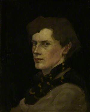 William McCance (1894–1970), Artist, Illustrator and Typographer, Self Portrait