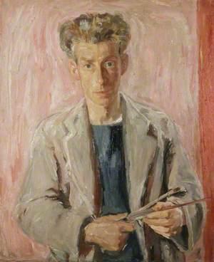 Sir William George Gillies (1898–1973), Artist, Self Portrait