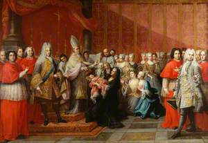 The Baptism of Prince Charles Edward Stuart