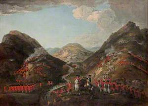 The Battle of Glenshiel, 1719
