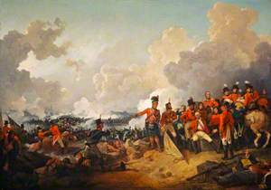 The Battle of Alexandria, 21 March 1801