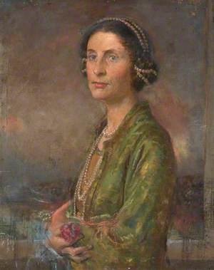 Portrait of the Artist's Wife, Audrey