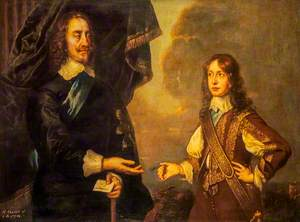 Charles I (1600–1649), Reigned 1625–1649, with James, Duke of York (1633–1701), Later James VII and II