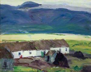 Cottages, Achill Island, County Mayo