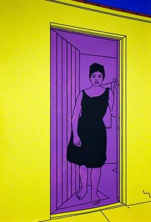 Girl in a Doorway