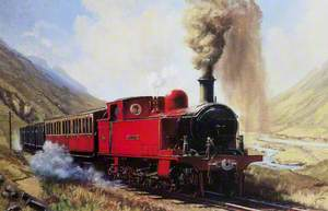 'Alice' (Red Tank Locomotive)