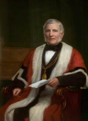 Samuel McCausland, Mayor of Belfast (1868)
