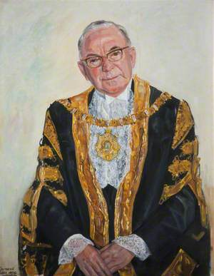 Sir William Geddis, The Right Honorable, The Lord Mayor of Belfast (1968)