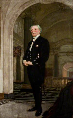 Sir Frederick William Moneypenny, City Chamberlain and Freeman of Belfast (1926)