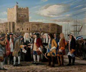 William III at Carrickfergus, 1690