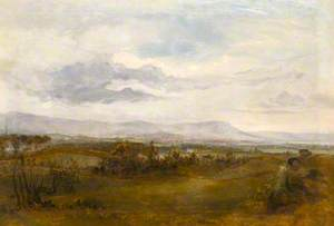 Extensive Landscape with Distant Prospect of Belfast, Cave Hill and Carrickfergus