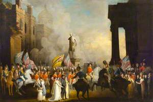 Review of the Belfast Yeomanry by the Lord Lieutenant, The Earl Hardwicke, 27 August 1804