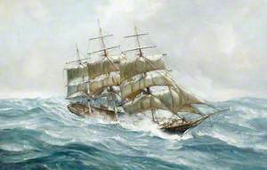 The Tea Clipper 'Ocean Rover' on Passage