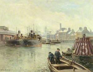 Gray Morning, Clarendon Dock