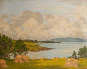 Belfast Lough from Thalassa, Bangor, County Down