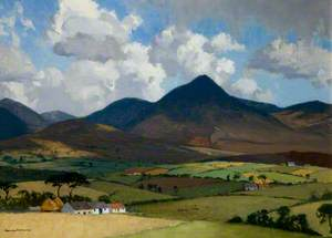 The Mourne Mountains, Slieve Binnian