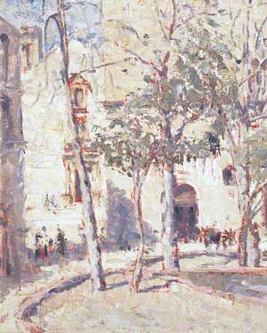 Street Scene, Mediterranean 1